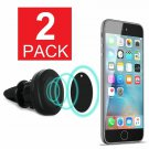 2-Pack Magnetic Car Mount Air Vent Stand GPS Cell Phone Holder iPhone 8 7 Plus X