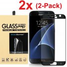 [2-Pack]Premium Tempered Glass Screen Protector Film Cover For Samsung Galaxy S7