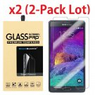 Premium Tempered Glass Screen Protector Film for Samsung Galaxy Note 4