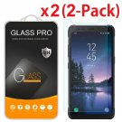 2-Pack Premium Tempered Glass Screen Protector for Samsung Galaxy S8 Active