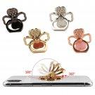 Universal 360° Finger Ring Stand Phone Holder Car Rotatiting - Flower Hearts