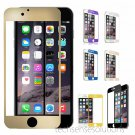Full Cover Color Tempered Glass Screen Protector for iPhone 6 & 6 PLUS