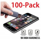 """100x Wholesale Lot Tempered Glass Screen Protector for Apple 4.7"""" iPhone 6"""