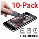 """10x Wholesale Lot Tempered Glass Screen Protector for Apple 5.5"""" iPhone 6 Plus"""