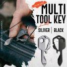 New Multi-Tool Key Multifunctional Key Pendant Wrench Set Universal Keys Gear