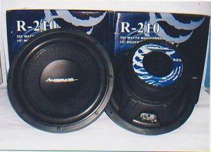 Audio Bank R-210 Subwoofer