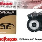 "ROCKFORD FOSGATE FNX-2614 6.5"" Component System"