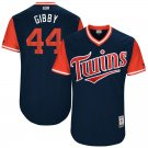 """2017 Men's No.44 Kyle Gibson Minnesota Twins """"GIBBY""""  Navy players weekend Jersey"""