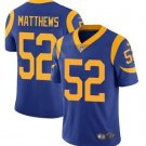 Men's Clay Matthews Los Angeles Rams color rush Limited jersey blue