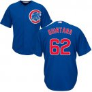 Youth Chicago Cubs #62 Jose Quintana blue alternate cool Base Jersey