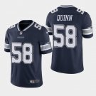 Youth Kid Robert Quinn #58 cowboys navy blue Color Rush Limited Jersey