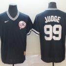 Youth New York Yankees #99 Aaron Judge Black Throwback Jersey