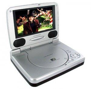 LIQUID VIDEO 6.2 INCH LCD DVD PLAYER