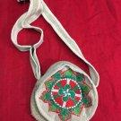 Himalayan hemp Round shoulder bag