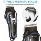 Pro Electric Hair cutting Trimmer Clipper Men Shaver Barber Haircut LCD Machine