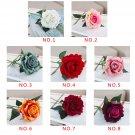 Wedding Home Decor Artificial Silk Rose Flower Bouquet Flowers Arrangement prop