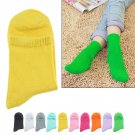 10Pair Cotton Women Ladies Girls Middle Tube Solid Casual Sport Socks
