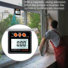 4*90° Digital Angle Finder Inclinometer Level Box Protractor Bevel Gauge Magnet