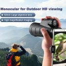 10x50 Non-infrared Night Vision Multi-coated Monocular Mini Waterproof Telescope