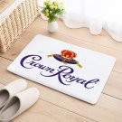 Crown Royal Floor Mat Natural Cotton Door Anti Slip whiskey