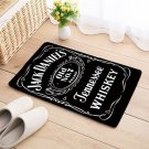 Jack Daniels Floor Mat Natural Cotton Door Anti Slip Whiskey