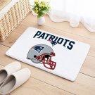 New England Patriots Door Mat Natural Cotton Floor Anti Slip NFL