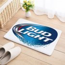 Bud Light Floor Mat Natural Cotton Door Anti Slip Beer