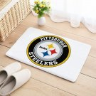 Pittsburgh Steelers Mat Natural Cotton Floor Door Home House Sports Team