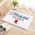 Michelob Ultra Door Mat Natural Cotton Floor Anti Slip Beer bar