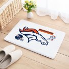 Denver Broncos Door Mat Natural Cotton Floor Anti Slip NFL