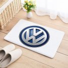 Volkswagen VW Door Mat Natural Cotton Floor Anti Slip