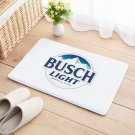Busch Light or Regular Beer Floor Mat Natural Cotton Door Anti Slip