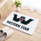 Western Star Floor Mat Natural Cotton Door Truck Anti Slip