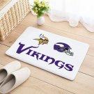 Vikings Mat Natural Cotton Floor Door Home House Football Sports Team
