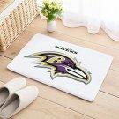 Baltimore Ravens Mat Floor Door Home House Natural Cotton Football Sports Team