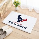 Houston Texans Mat Natural Cotton Floor Door Home House Football Sports Team