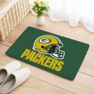 Green bay Packers Mat Natural Cotton Floor Door Home House Anti Slip