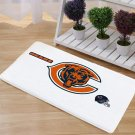 Chicago Bears Mat Natural Cotton Floor Door Anti Slip