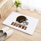 Cleveland Browns Mat Natural Cotton Floor Door Home House Football Sports Team