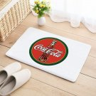 Coke Coca Cola Floor Mat Door Home House Natural Cotton Soft Drink pop