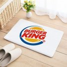 Burger King Floor Mat Door Home House Natural Cotton restaurant take out