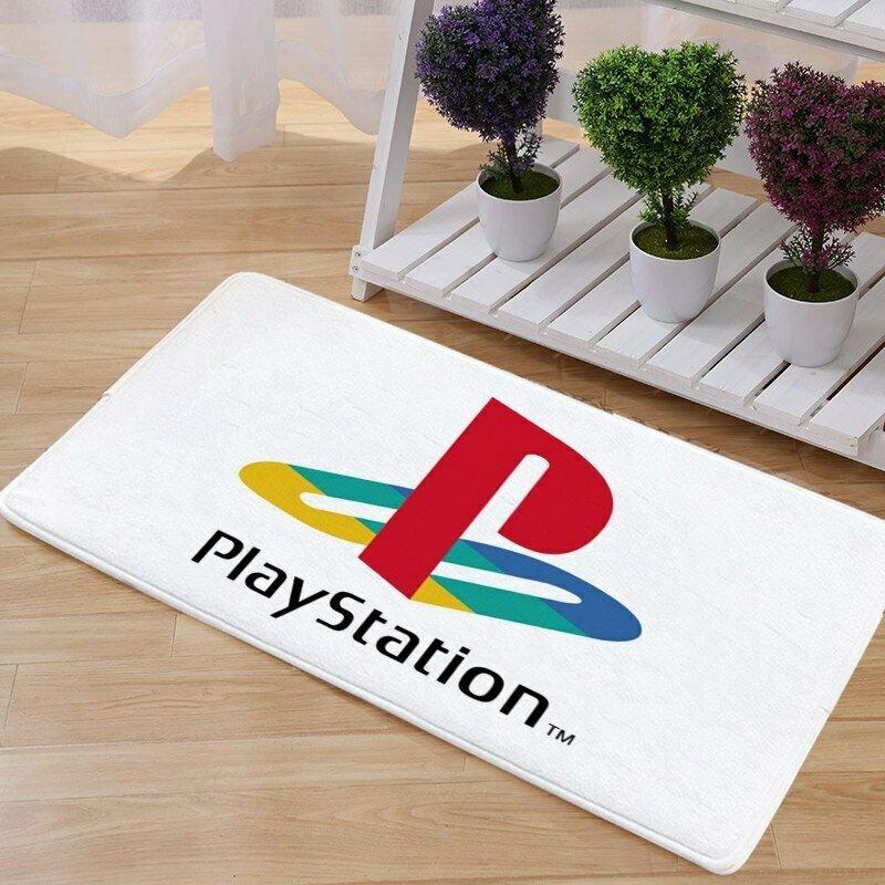 Playstation Mat Natural Cotton Floor Door Anti Slip Game