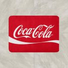 Coke Coca Cola Floor Mat Door Home House Natural Cotton 20 x 32