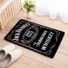 Jack Daniels Floor Mat Natural Cotton Door Anti Slip Whiskey 20 x 32
