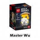 Brick Headz Master Wu NinjaGo Series ( 41488 copy) Building Blocks