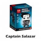 BrickHeadz Disney Captain Armando Salazar NinjaGo Series ( 41594 copy) Building Blocks