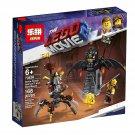 MOVIE 2 Battle-Ready Batman and MetalBeard NinjaGo Series (  70836 copy) Building Blocks