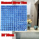 BLINK Mirror Tile Crystal Diamond Mosaic Bevel Glass Backsplash Ktv Bar Washroom