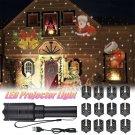 12 Pattern LED Projector Light Flashlight Landscape Lamp F/ Xmas Halloween Party