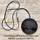 Smart phone wifi/emf protection necklace - Tree Of Life